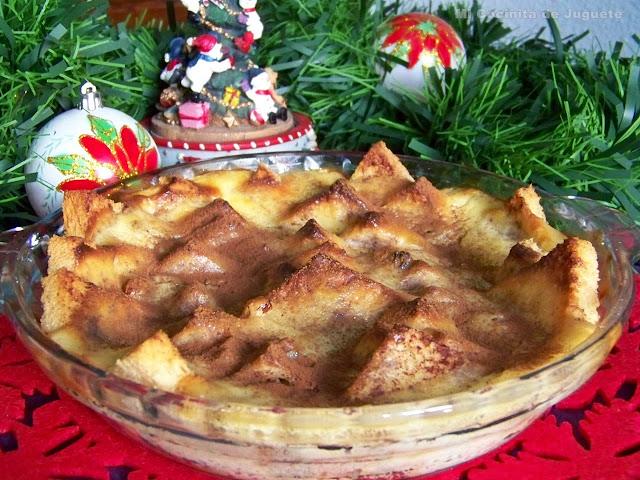 Pudding de Pan y Mantequilla