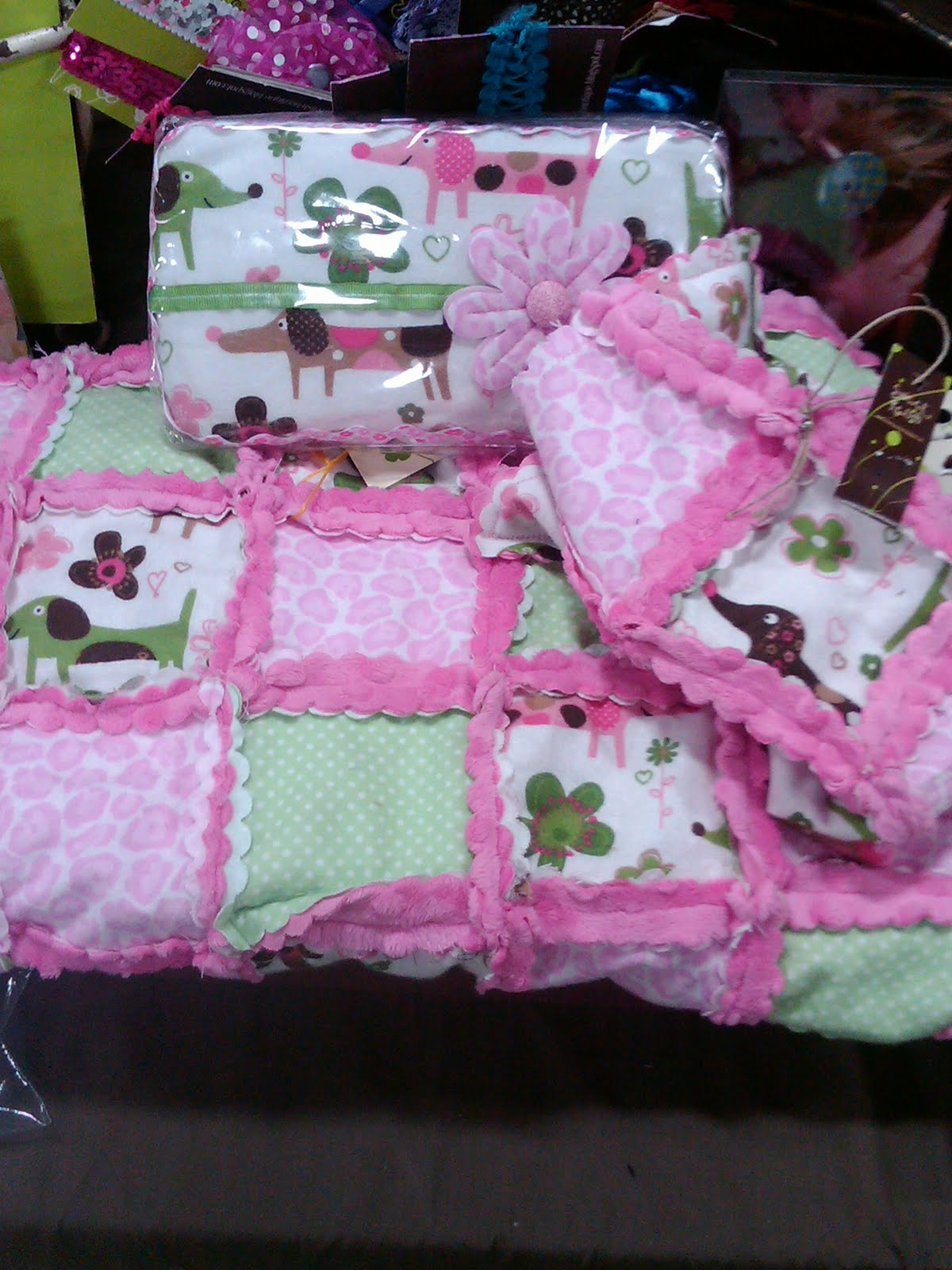 Sweet Relish: Baby Blanket, Lovey and Baby Wipe Kits