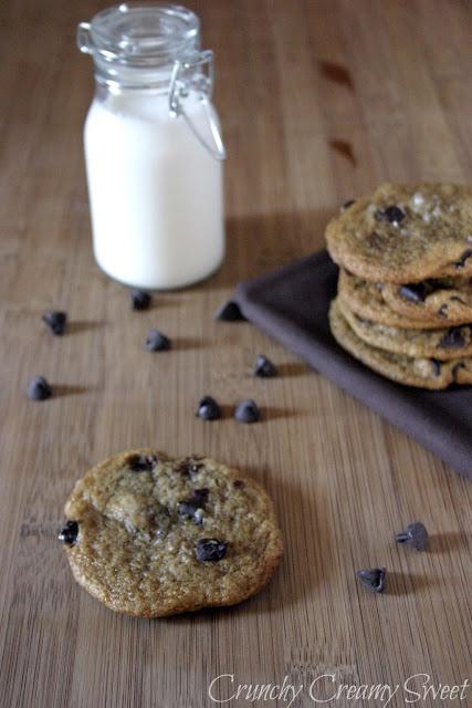 vegan+chocolate+chip CCC Monday: Vegan Chocolate Chip Cookies