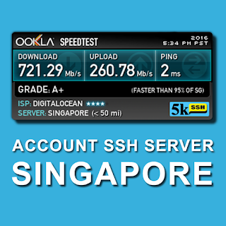 Akun Gratis SSH April 2016 Full Speed SG
