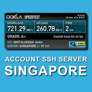 Akun Gratis SSH April 2016 Full Speed SG