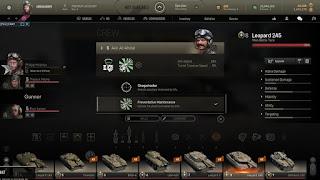 subir habilidades en tripulación de tanques armored warfare