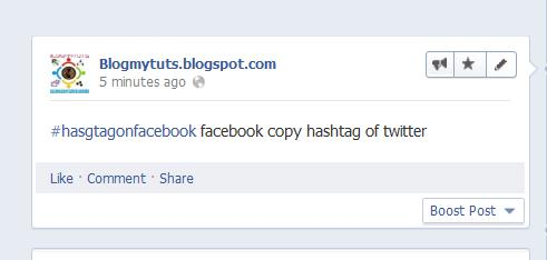 Facebook Copies Twitter Hashtag Function