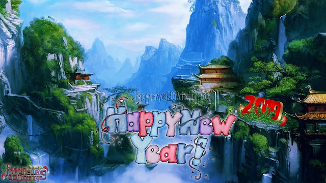 Happy New Year 2019 Full HD Nature Background Wallpapers