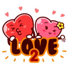 Love Hearts 2 (Sachet)