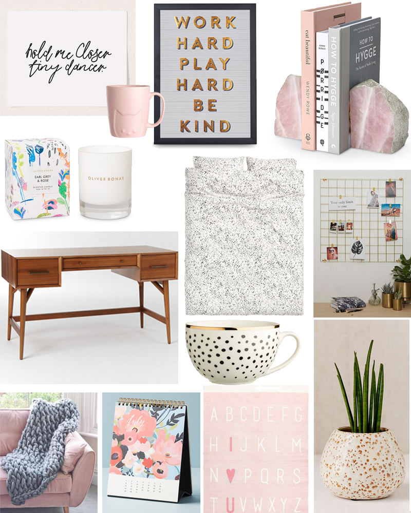 Homeware Wishlist Millennial Pink Interiors 2017 | Colours and Carousels - Scottish Lifestyle, Beauty and Fashion blog