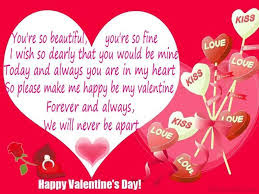 Happy Valentine  Day SMS 2016