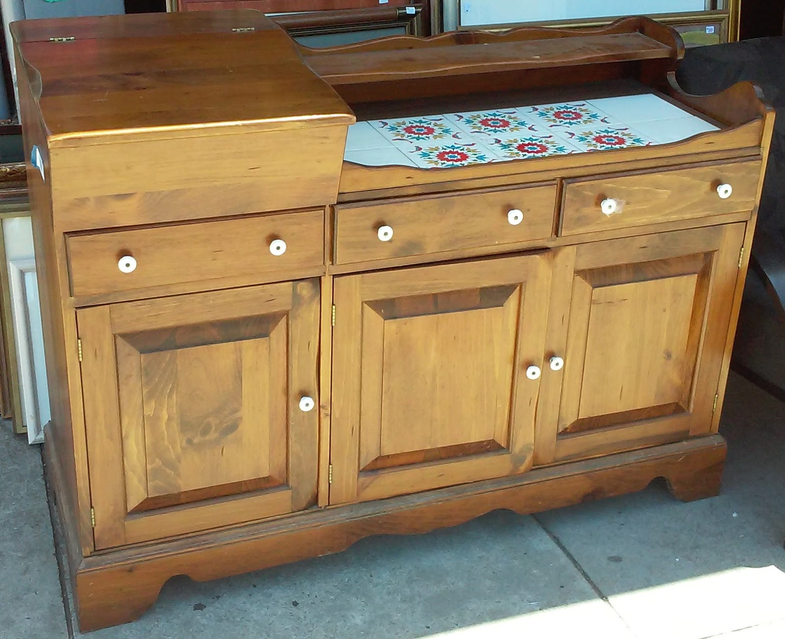 #A1782A UHURU FURNITURE & COLLECTIBLES: #3774 Country Pine 50 Wide Kitchen  with 1600x1302 px of Highly Rated Dresser 50 Inches Wide 13021600 picture/photo @ avoidforclosure.info