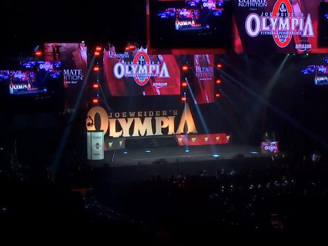 Clique na imagem para assistir a transmissão ao vivo do Mr. Olympia 2015. Foto: Reprodução
