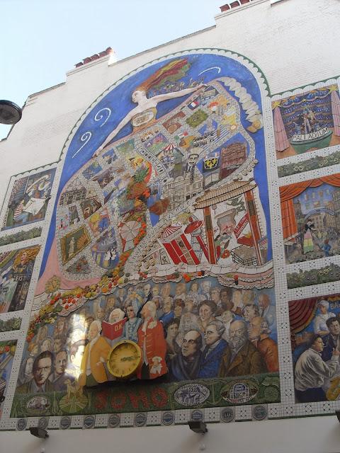 mural en soho london