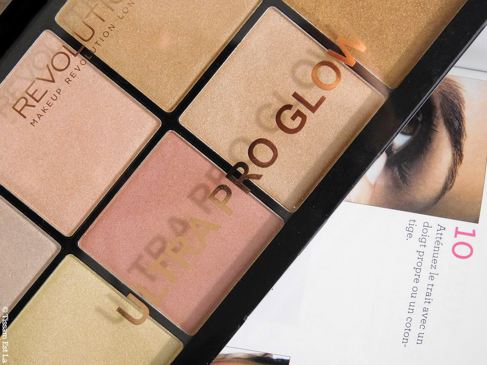 Makeup Revolution - Ultra Pro Glow Highlighting Palette - Anastasia Beverly Hills Dupe - Tambeauty Highlighters - Swatches and Review