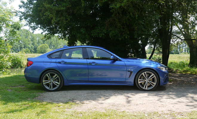 BMW 4-Series Gran Coupe side view