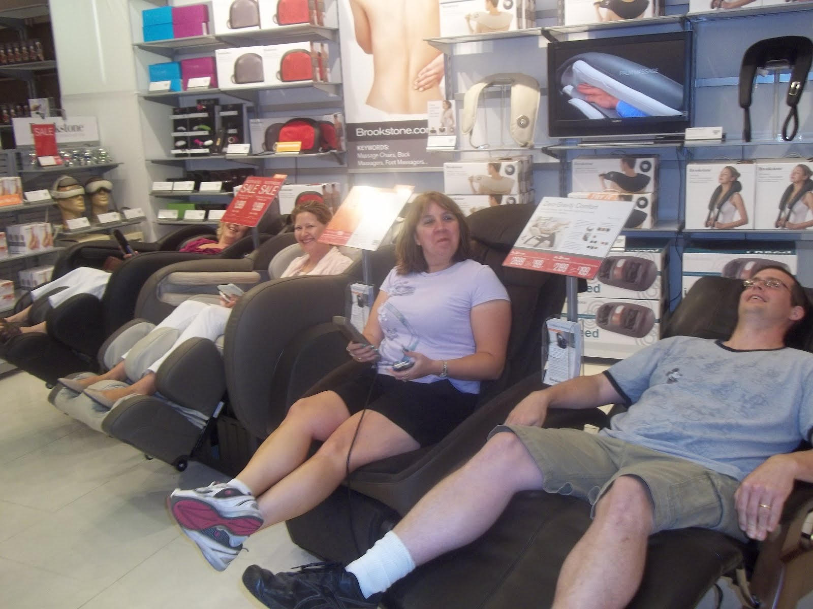 Used Brookstone Massage Chair Covers In Uganda Sarah 39s Blog Of Fun July 2012