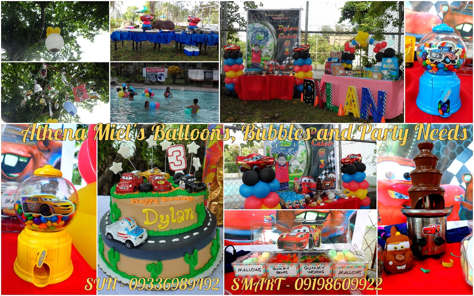Cars birthday party theme davao city