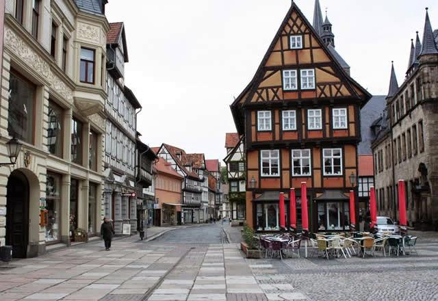 Quedlinburg, Germany, Alemanha