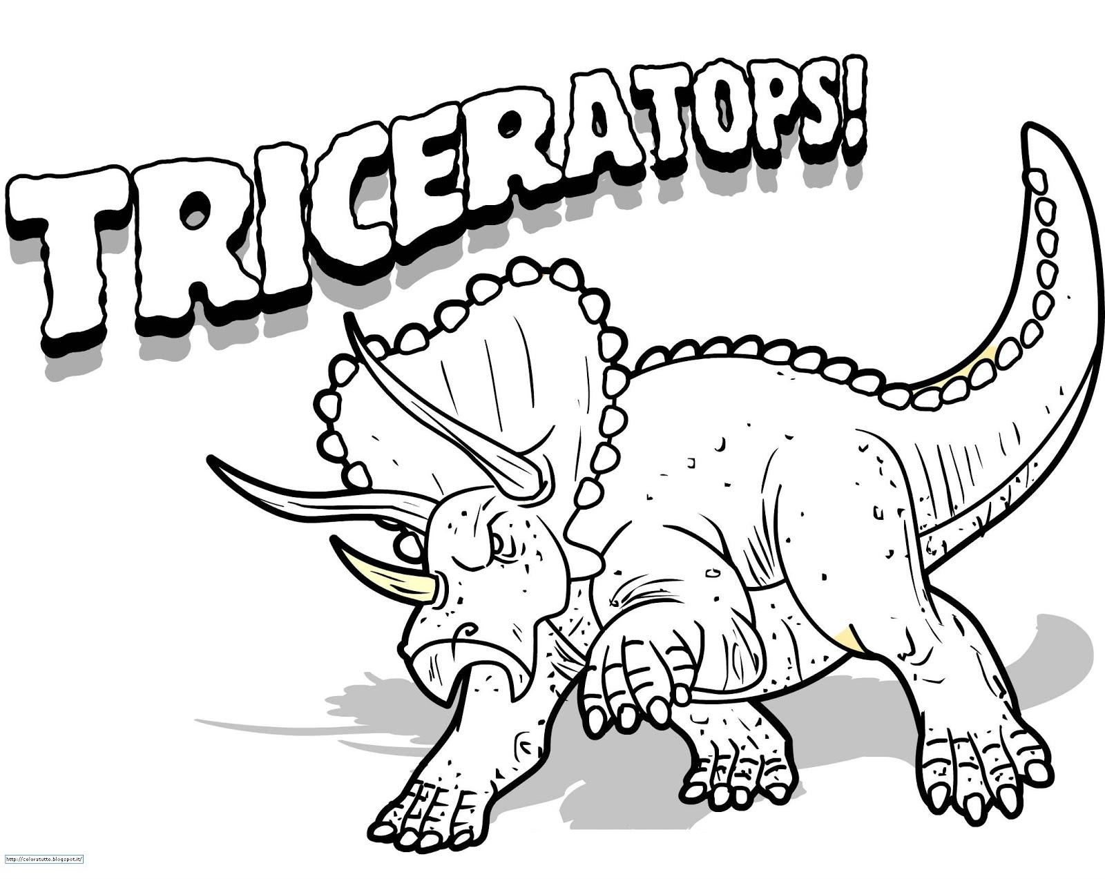 Disegni Da Colorare Gratis Dinosauri.Velociraptor Da Colorare