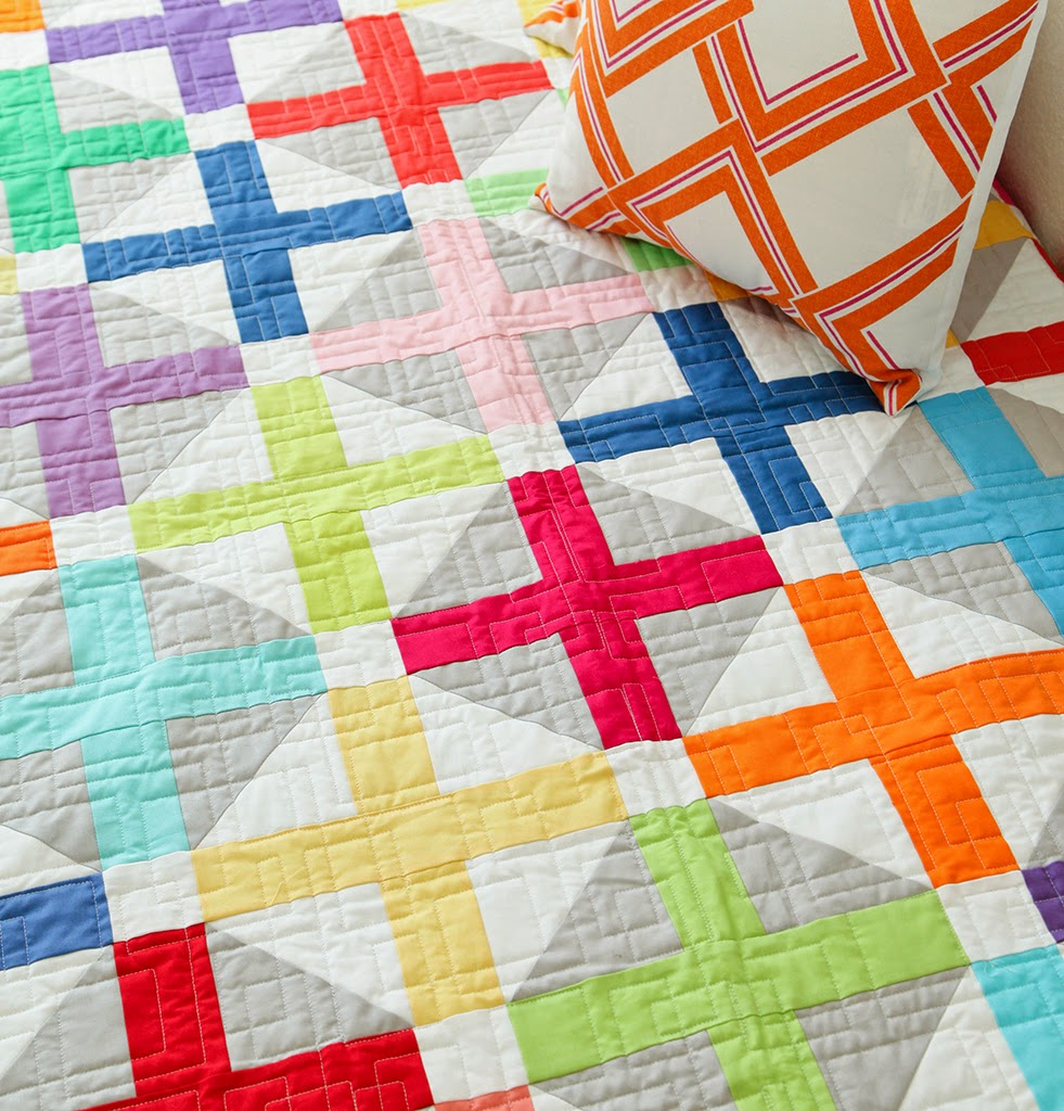 New modern quilt pattern and workshop diary of a quilter for Modern house quilts