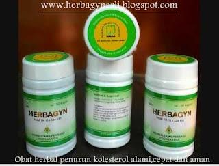 Herbagyn Kapsul Herbal Penurun Kolesterol Secara Cepat,Alami dan Aman