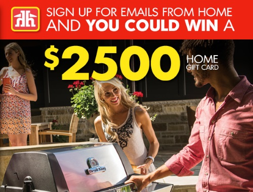 Canadian Daily Deals Home Hardware 2500 Gift Card Contest