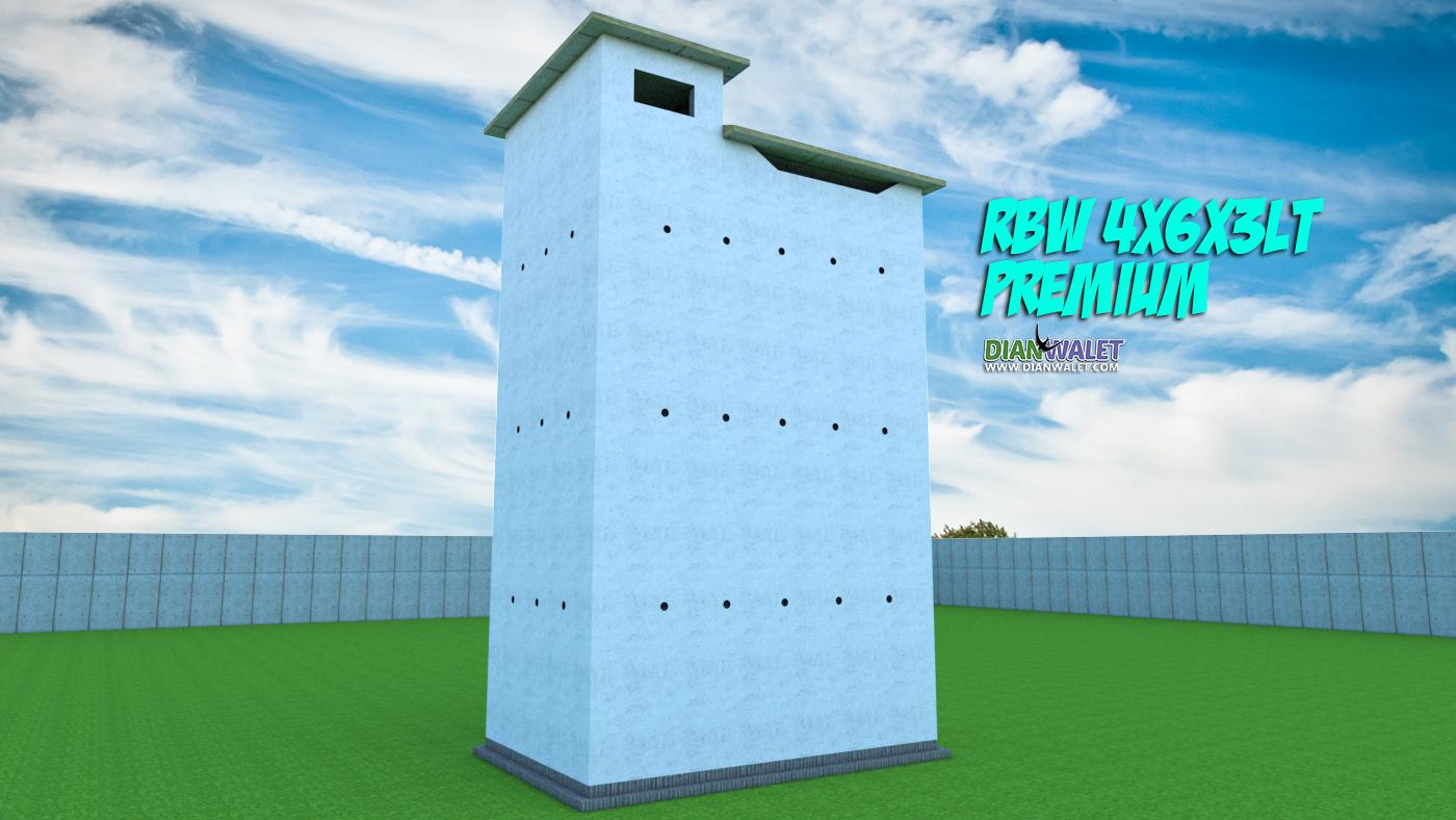 Desain Bangunan Walet 4x6 3 Lantai Premium  DIAN WALET
