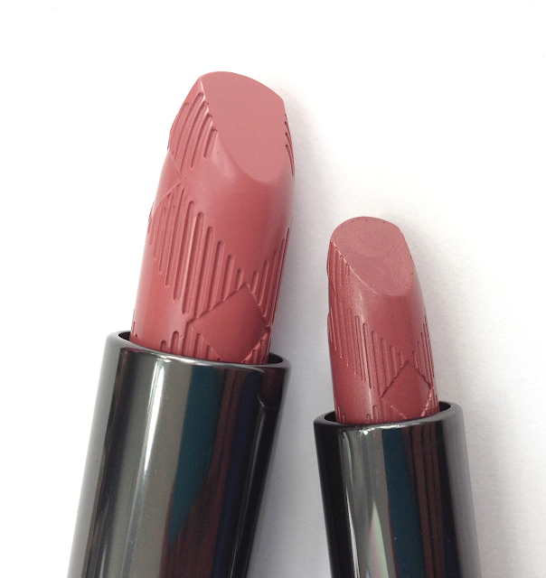 burberry antique rose rosewood lip cover soft satin lipstick