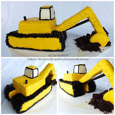 How To Make A D Digger Cake