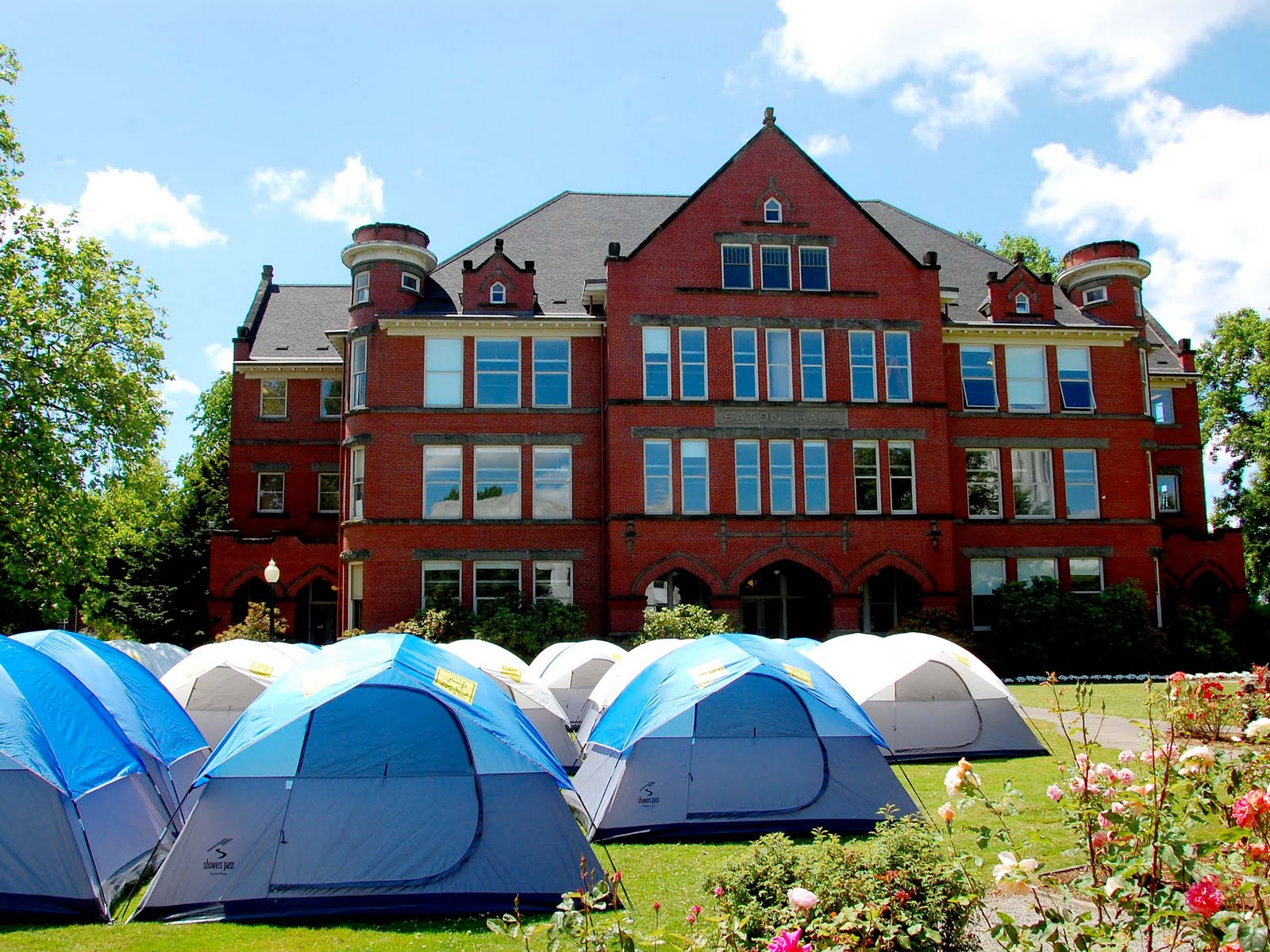 Salem, Oregon Daily Photo Diary: Tent City