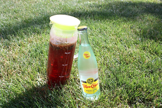 Topo Chico Mineral Water Iced Tea
