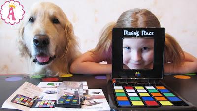 Кубик рубик в версии настольной игры для детей и родителей