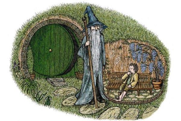 donna rita - na sua estante - o hobbit