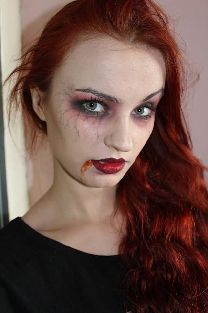 Makijaż na Halloween, Wampirzyca