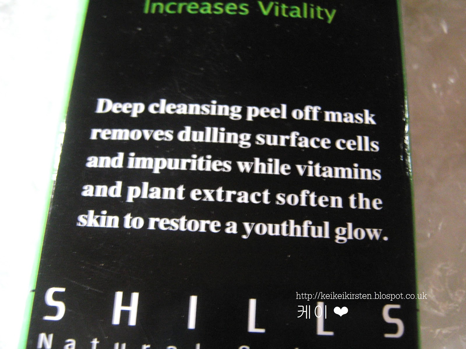 Keikeikirsten Shills Purifying Peel Off Black Mask Original Shill Deep Cleansing Removes Dulling Surface Cells Impurities While Vitamins Plant Extract Soften The Skin To Restore A Youthful Glow