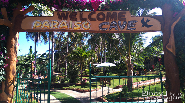 Gate of Paraiso Cave garden
