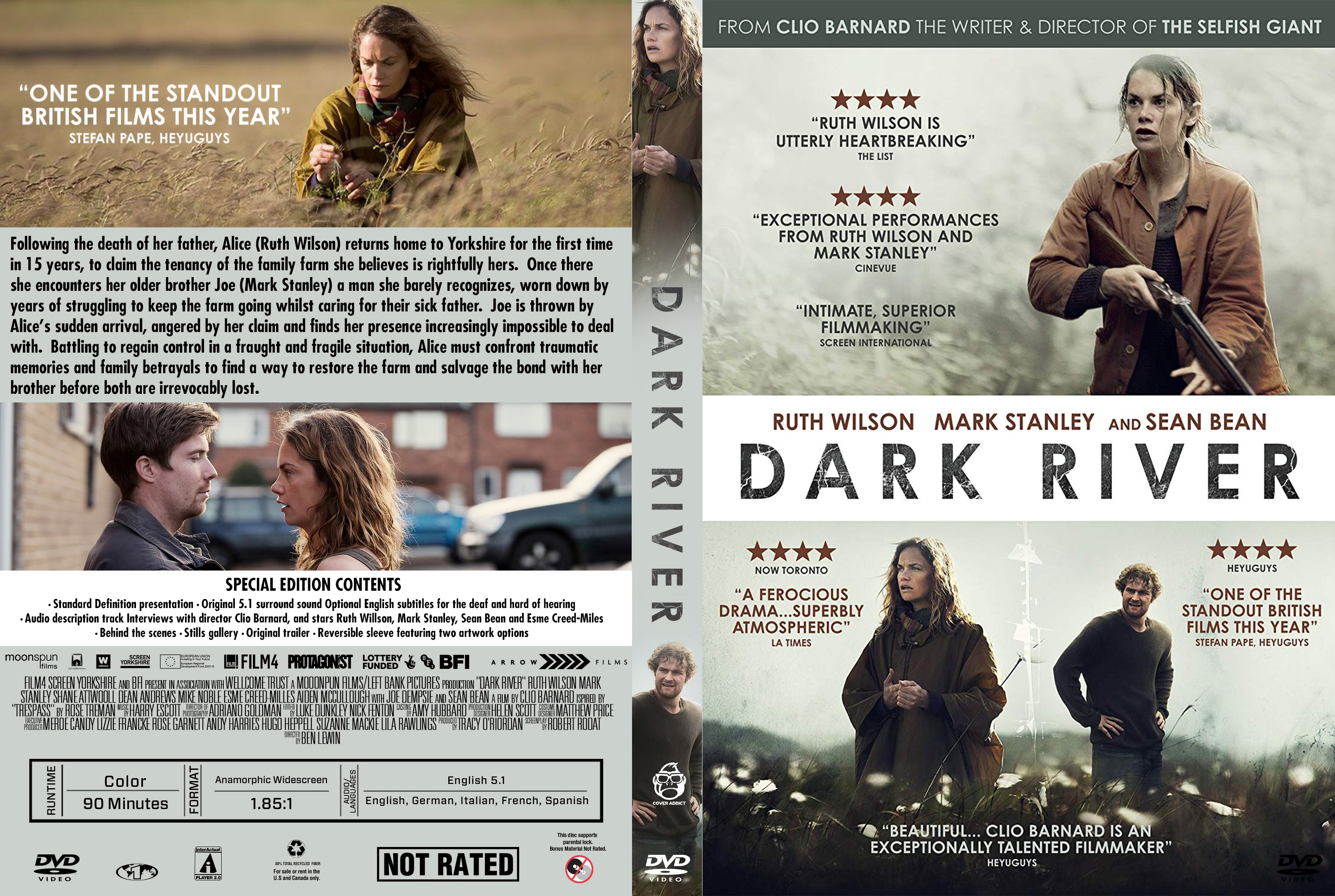 Dark River DVD Cover Cover Addict DVD Bluray Covers