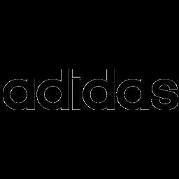 logo teks adidas
