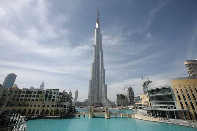 Maior antena do mundo em Dubai