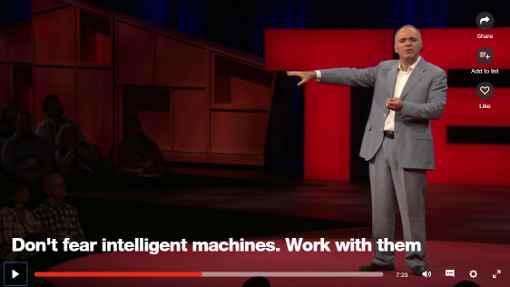 Une conférence de Kasparov sur l'intelligence artificielle