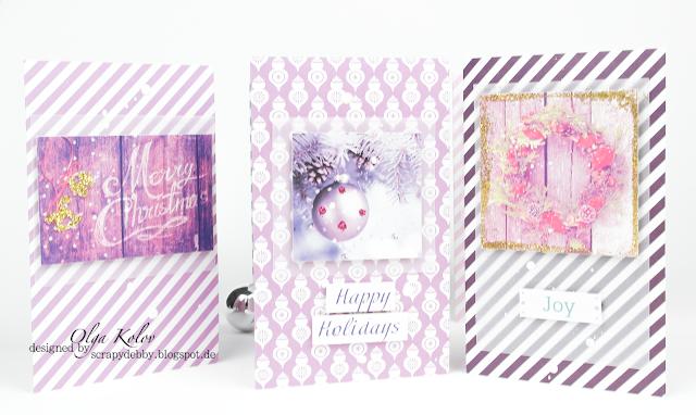 @olgakolov #scrapberry's #elegantlyfestive #card #christmas # weihnachten