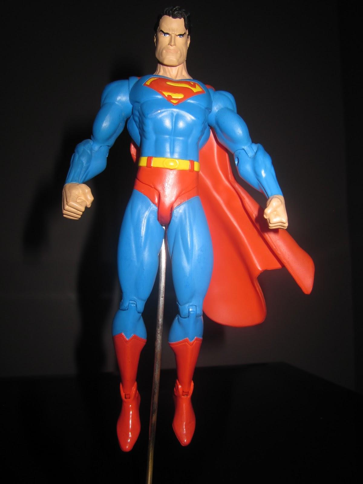 DC Direct: Jim Lee Superman   Action Figure Planet
