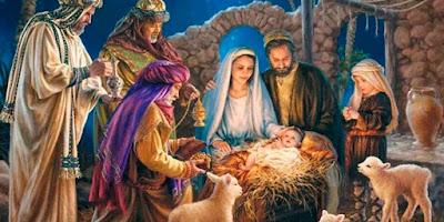 imagem do nascimento de Jesus