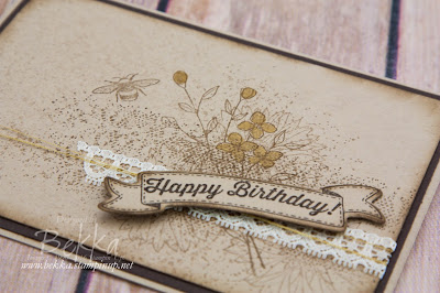 Touches of Texture Birthday Card made using Stampin' Up! UK Supplies available to buy here