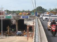 FOTO-FOTO: Kondisi Terkini Underpass Mandai, Sudah Bisa Digunakan H-7 Lebaran
