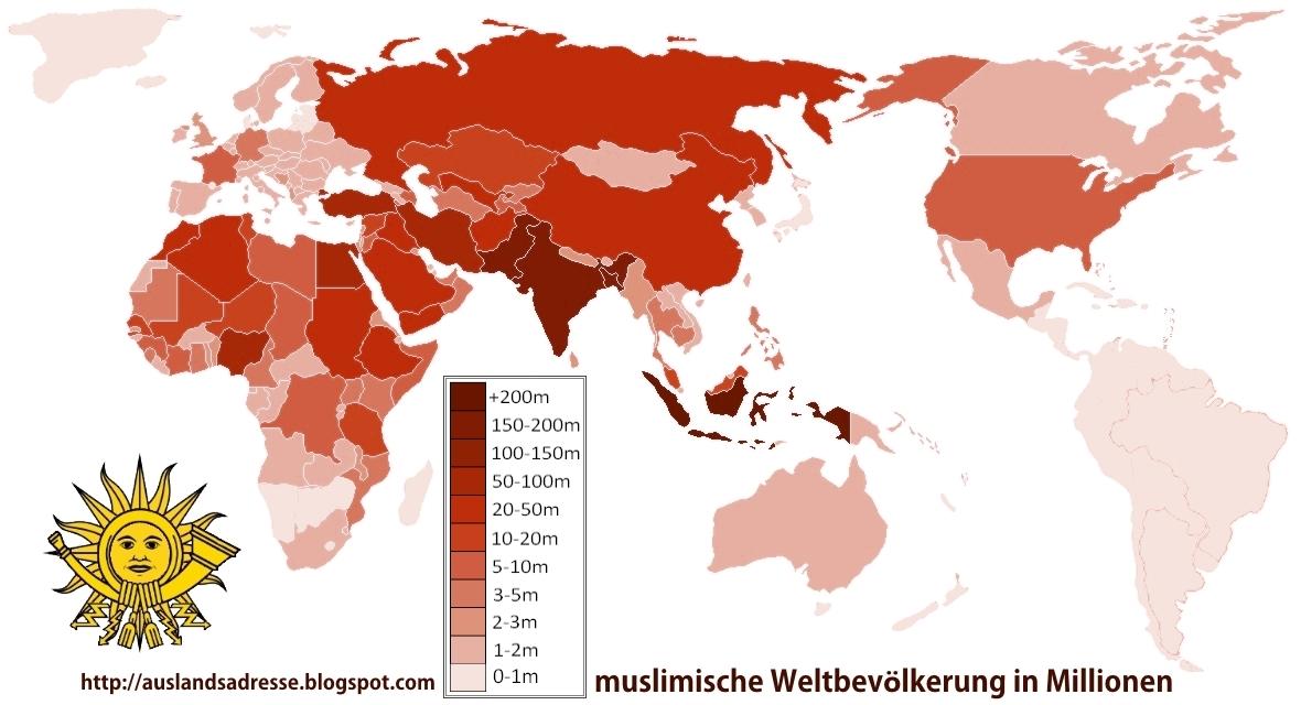 Wo Leben Die Meisten Muslime