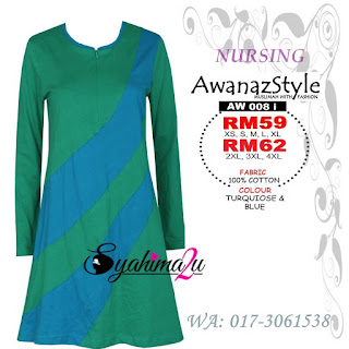 T-Shirt-Muslimah-Awanazstyle-AW008i