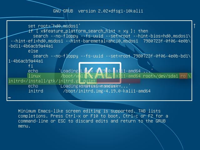 How to reset Kali Linux Password - KaliTut
