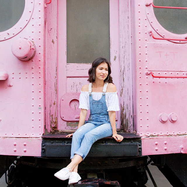 Summer Sporty with Overalls