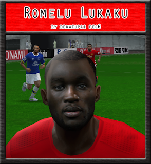 PES 6 Faces Romelu Lukaku by Dewatupai