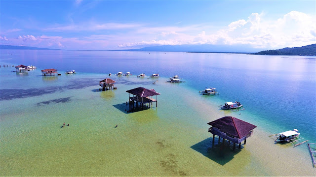 Manjuyod White Sandbar referred to as 'The Maldives of the Philippines""