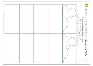 Plantillas para descargar: cadenetas de papel fantasmales