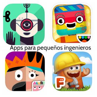 Aplicaciones infantiles para pequeños ingenieros